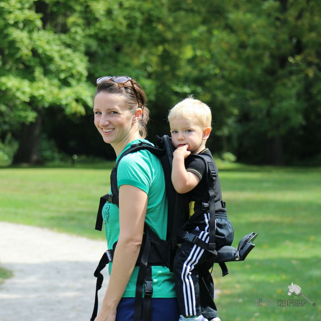 a7d4c49e17f The Freeloader Child Carrier Review + Discount - Kiddo Korner