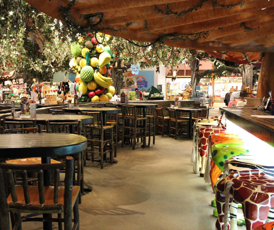 Rainforest Cafe Auburn Hills