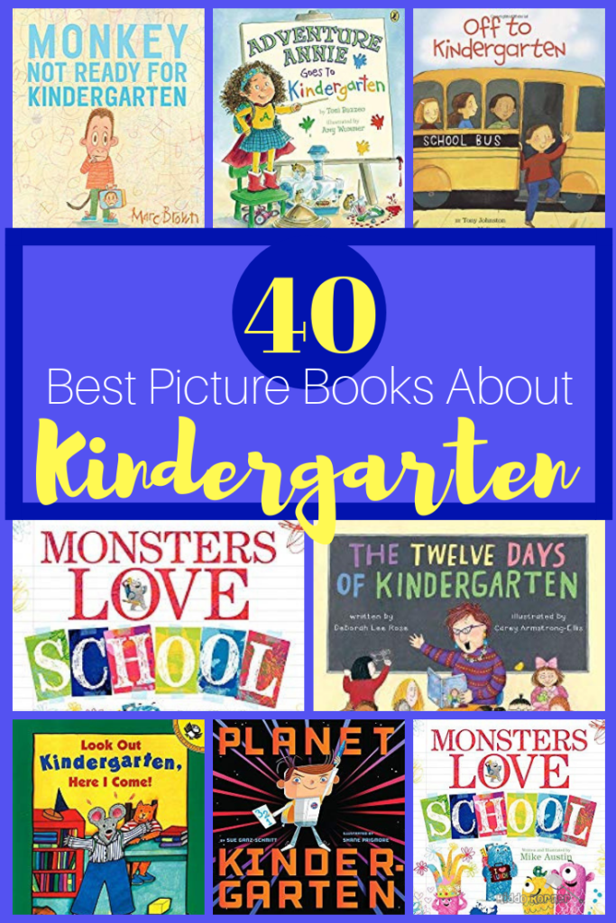 40 Best Picture Books About Kindergarten